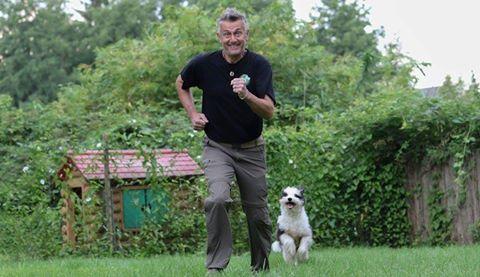 für Internetseite Wolfi und Josie beim Rennen